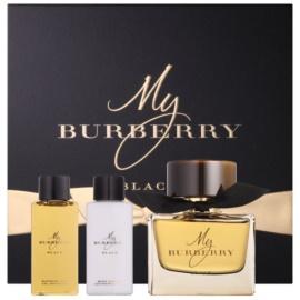 Burberry My Burberry Black Geschenkset II.  Eau de Parfum 90 ml + Duschgel 75 ml + Körperlotion 75 ml