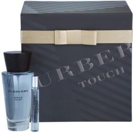 Burberry Touch for Men darilni set II. toaletna voda 100 ml + toaletna voda 10 ml