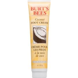 Burt's Bees Coconut beruhigende Creme für die Fußsohlen mit Kokos  120 g