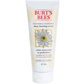Burt's Bees Soap Bark & Chamomile mélyen tisztító krém  170 g