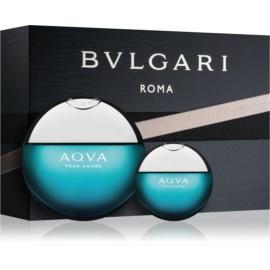 Bvlgari AQVA Pour Homme ajándékszett X.  Eau de Toilette 100 ml + Eau de Toilette 15 ml