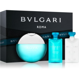Bvlgari AQVA Pour Homme Gift Set XIV.  Eau De Toilette 50 ml + Aftershave Balm 40 ml + Shower Gel 40 ml