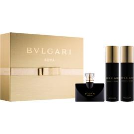 Bvlgari Jasmin Noir coffret cadeau VIII.  eau de parfum 100 ml + eau de parfum 25 ml + lait corporel 200 ml + gel de douche 200 ml