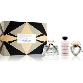 Bvlgari Mon Jasmin Noir zestaw upominkowy VII. woda perfumowana 50 ml + woda perfumowana 15 ml + mleczko do ciała 40 ml