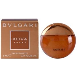 Bvlgari AQVA Amara Eau de Toilette für Herren 5 ml