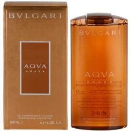 Bvlgari AQVA Amara tusfürdő férfiaknak 200 ml