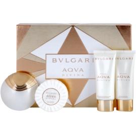 Bvlgari AQVA Divina coffret IV.  Eau de Toilette 65 ml + gel de duche 100 ml + leite corporal 100 ml + sabonete 150 g