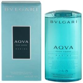 Bvlgari AQVA Marine Pour Homme tusfürdő férfiaknak 200 ml