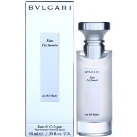 Bvlgari Eau Parfumée au Thé Blanc Eau de Cologne unisex 40 ml
