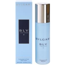 Bvlgari BLV II leche corporal para mujer 200 ml