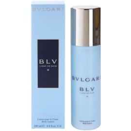 Bvlgari BLV II Body Lotion for Women 200 ml