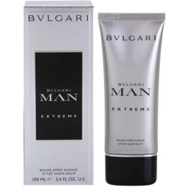 Bvlgari Man Extreme bálsamo após barbear para homens 100 ml