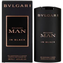 Bvlgari Man In Black sprchový gél pre mužov 200 ml