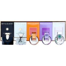Bvlgari Mini set cadou VI.  Eau de Parfum 5 ml + Apa de Toaleta 4 x 5 ml