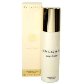 Bvlgari Pour Femme tělové mléko pro ženy 200 ml