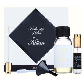 By Kilian Forbidden Games подаръчен комплект I. парфюмна вода пълнител 50 ml + пълнещ се флакон 7,5 ml + фуния  + пулверизатор