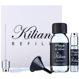 By Kilian Prelude to Love, Invitation ajándékszett I. parfümös víz utántöltő 50 ml + utántölthető üveg 7,5 ml + tölcsér  + szórófej