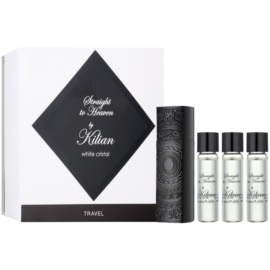 By Kilian Straight To Heaven, white cristal Eau de Parfum for Men 4 x 7,5 ml (1x Refillable + 3x Refill)
