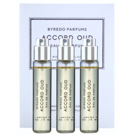 Byredo Accord Oud Eau de Parfum unisex 3 x 12 ml Dreifach-Nachfüllpackung mit Zerstäuber