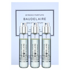 Byredo Baudelaire Eau de Parfum for Men 3 x 12 ml (3x Refill with Vaporiser)