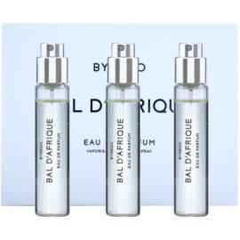 Byredo Bal D'Afrique eau de parfum unisex 3 x 12 ml (3x utántöltő szórófejjel)