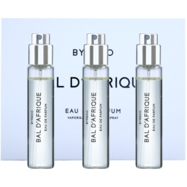 Byredo Bal D'Afrique Eau de Parfum unisex 3 x 12 ml Dreifach-Nachfüllpackung mit Zerstäuber