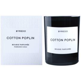 Byredo Cotton Poplin vonná svíčka 240 g
