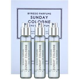 Byredo Sunday Cologne parfémovaná voda unisex 3 x 12 ml (3x náplň s rozprašovačem)