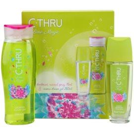 C-THRU Lime Magic coffret II. deo stick 75 ml + gel de duche 250 ml
