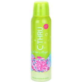 C-THRU Lime Magic Deo Spray for Women 150 ml