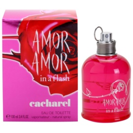 Cacharel Amor Amor In a Flash Eau de Toilette für Damen 100 ml