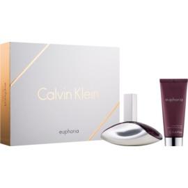 Calvin Klein Euphoria подарунковий набір VІ  Парфумована вода 100 ml + Молочко для тіла 100 ml