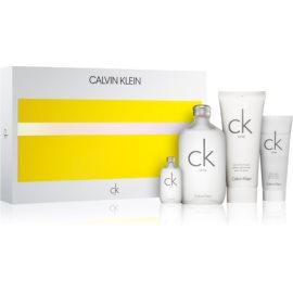 Calvin Klein CK One darilni set toaletna voda 200 ml + losjon za telo 200 ml + gel za prhanje 100 ml + toaletna voda 15 ml
