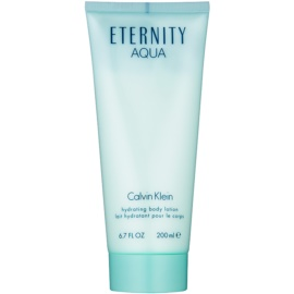 Calvin Klein Eternity Aqua lapte de corp pentru femei 200 ml