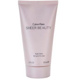 Calvin Klein Sheer Beauty tělové mléko pro ženy 150 ml