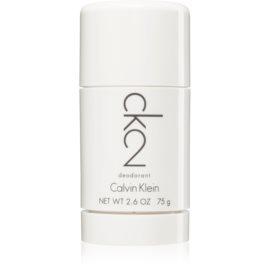 Calvin Klein CK2 desodorante en barra unisex 75 g