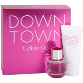 Calvin Klein Downtown dárková sada II. parfémovaná voda 90 ml + tělové mléko 200 ml