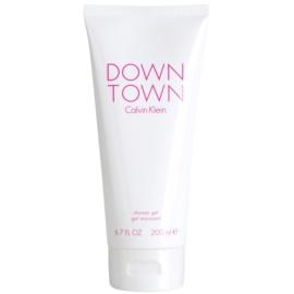 Calvin Klein Downtown sprchový gel pro ženy 200 ml