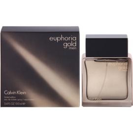 Calvin Klein Euphoria Gold Men Eau de Toilette pentru barbati 100 ml