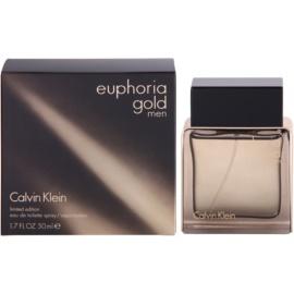Calvin Klein Euphoria Gold Men Eau de Toilette pentru barbati 50 ml