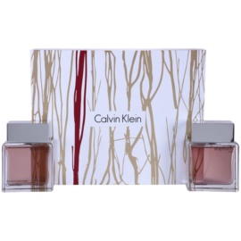 Calvin Klein Euphoria Men Geschenkset I. Eau de Toilette 100 ml + After Shave Water 100 ml