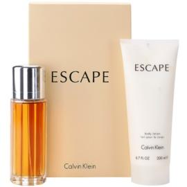 Calvin Klein Escape Gift Set  III.  Eau de Parfum 100 ml + Body Lotion  200 ml