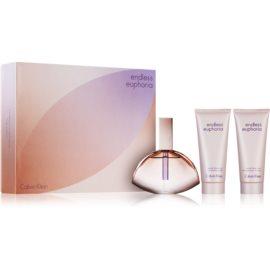 Calvin Klein Endless Euphoria zestaw upominkowy I.  woda perfumowana 125 ml + mleczko do ciała 100 ml + żel pod prysznic 100 ml