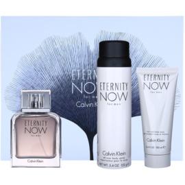 Calvin Klein Eternity Now for Men Geschenkset II. Eau de Toilette 100 ml + Körperspray 152 g + Duschgel 100 ml
