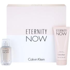 Calvin Klein Eternity Now ajándékszett III.  Eau de Parfum 30 ml + testápoló tej 100 ml