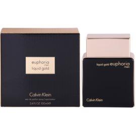 Calvin Klein Euphoria Liquid Gold eau de parfum férfiaknak 100 ml
