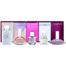 Calvin Klein Mini coffret XXII. Downtown+Endless Euphoria+CK One+Eternity+Euphoria Eau de Parfum 3 x 5 ml + Eau de Parfum 4 ml + Eau de Toilette 10 ml