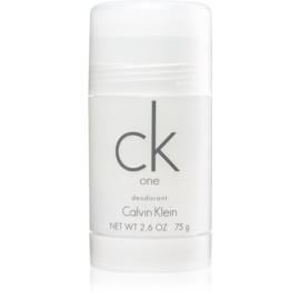 Calvin Klein CK One desodorizante em stick unissexo 75 g