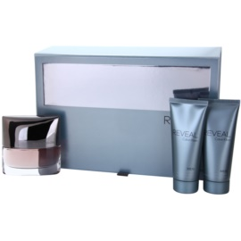 Calvin Klein Reveal Gift Set III  Eau De Toilette 100 ml + Aftershave Balm 100 ml + Shower Gel 100 ml