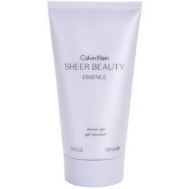 Calvin Klein Sheer Beauty Essence sprchový gel pro ženy 150 ml